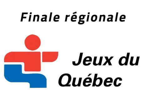 Jeux du Québec – Finale régionale