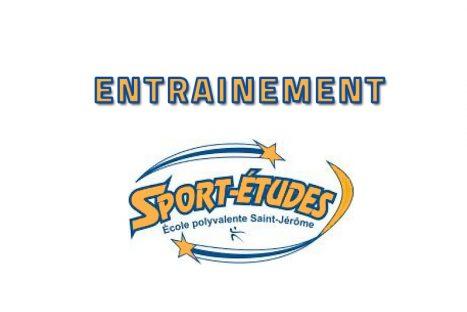 Entrainement Sport-études