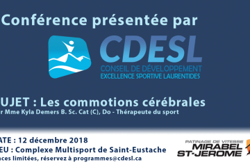 Conférence : Les commotions cérébrales