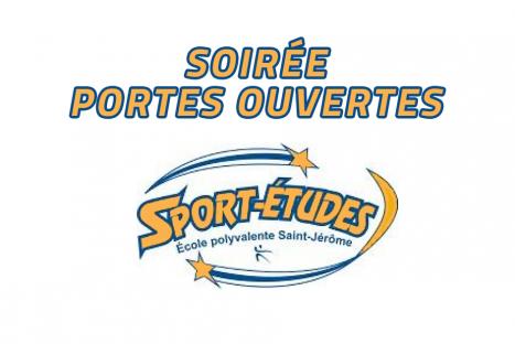 Soirée portes ouvertes Programme Sport-études